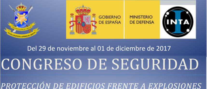INTA: CONGRESO DE SEGURIDAD. PROTECCIÓN DE EDIFICIOS FRENTE A EXPLOSIONES