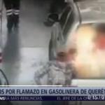 Incendio de bidones con combustible deja una niña con quemaduras en México