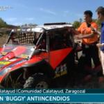Aragon TV entrevista a conductor de Buggy protegido contraexplosiones con Explostop 1/8/2019