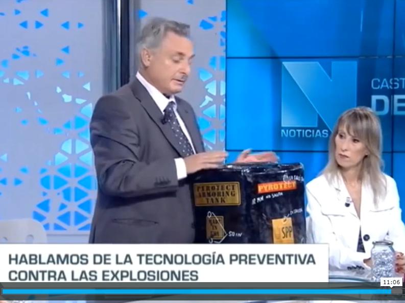 Castilla La Mancha Media – presenta Explostop y Depósitos Autosellantes 17-09-2019