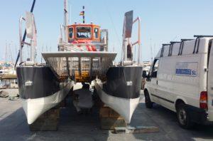 Explostop barco protegido